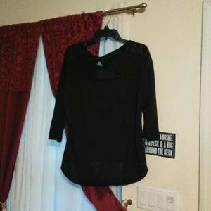 Long sleeve blk shirt